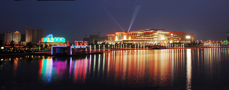 扬州是中国著名的风景旅游