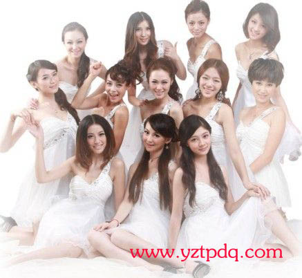 2011中国扬州美女大赛12强名单揭晓 扬州拓普电气