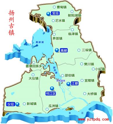 地图上的扬州古镇 扬州最古老的镇宝应县射阳湖镇