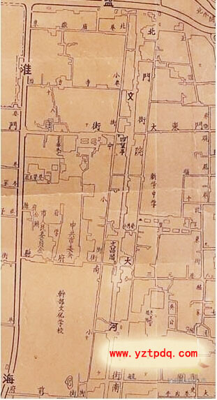 英国塞文河手绘地图